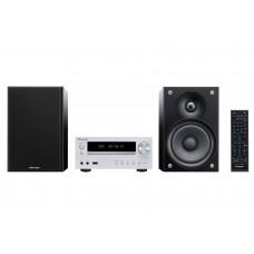 Pioneer X-HM51-W Micro Hifi rendszer, Bluetooth, CD, USB, MP3, iPod,iPad,iPhone, AM/FM, 2x50W, ezüst színben