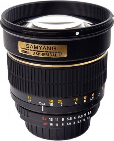 Samyang 85mm F1.4 AS IF UMC objektív (Nikon)